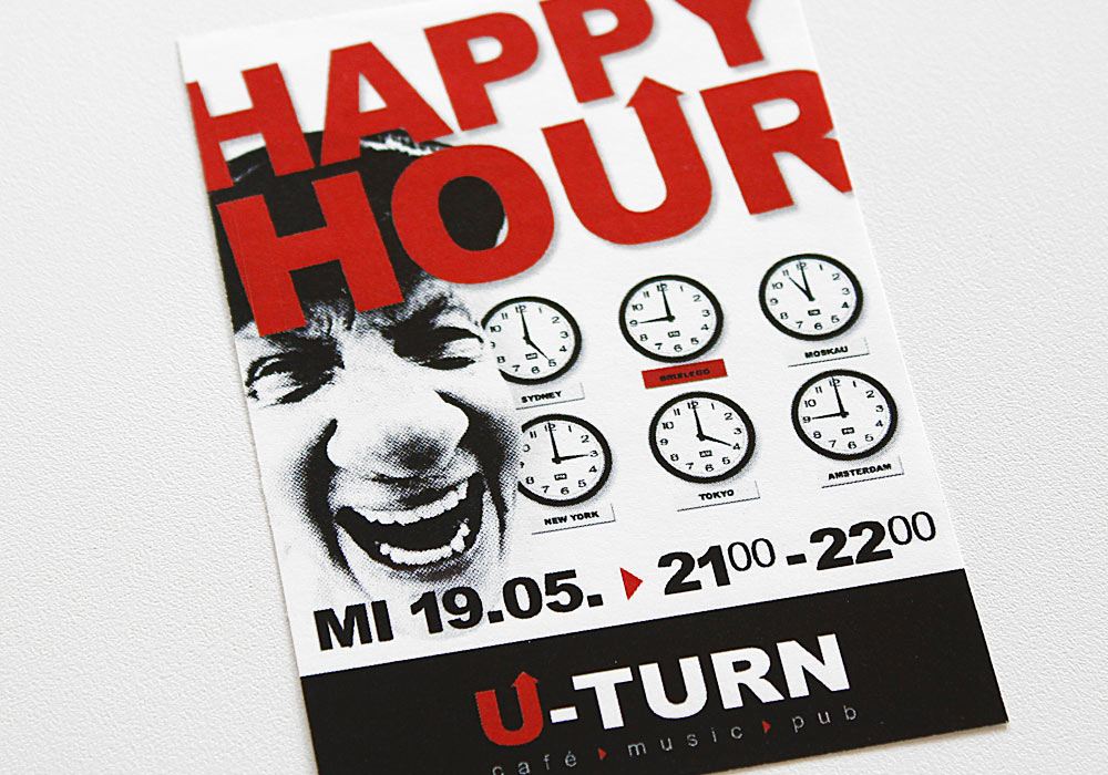 U-Turn: Flyer Happy Hour